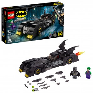 LEGO DC Comics Super Heroes Batmobile: Pursuit of The Joker 76119 (342 Pieces) (  juego de juguetes lego  Batman 76119 Batmobile de 342 piezas )
