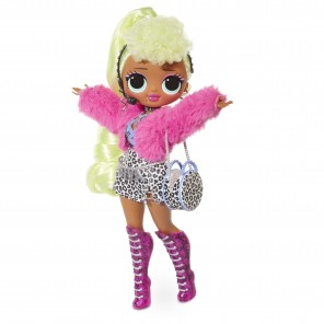 L, O,L, Surprise O,M,G, Lady Diva Fashion Doll with 20 Surprises (LOL sorpresa OMG Lady Diva Fashion Doll con 20 sorpresas)