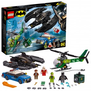 LEGO DC Comics Super Heroes Batman Batwing and The Riddler Heist 76120 (489 Pieces)( lego de Superhéroes Batman Batwing y The Riddler Heist 76120 (489 Piezas)