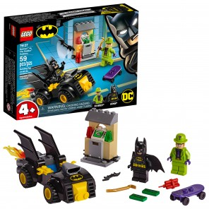 LEGO DC Comics Super Heroes Batman vs. The Riddler Robbery 76137 (59 Pieces)( lego comics superhéroes batman vs. the riddler robbery 76137 (59 Piezas)